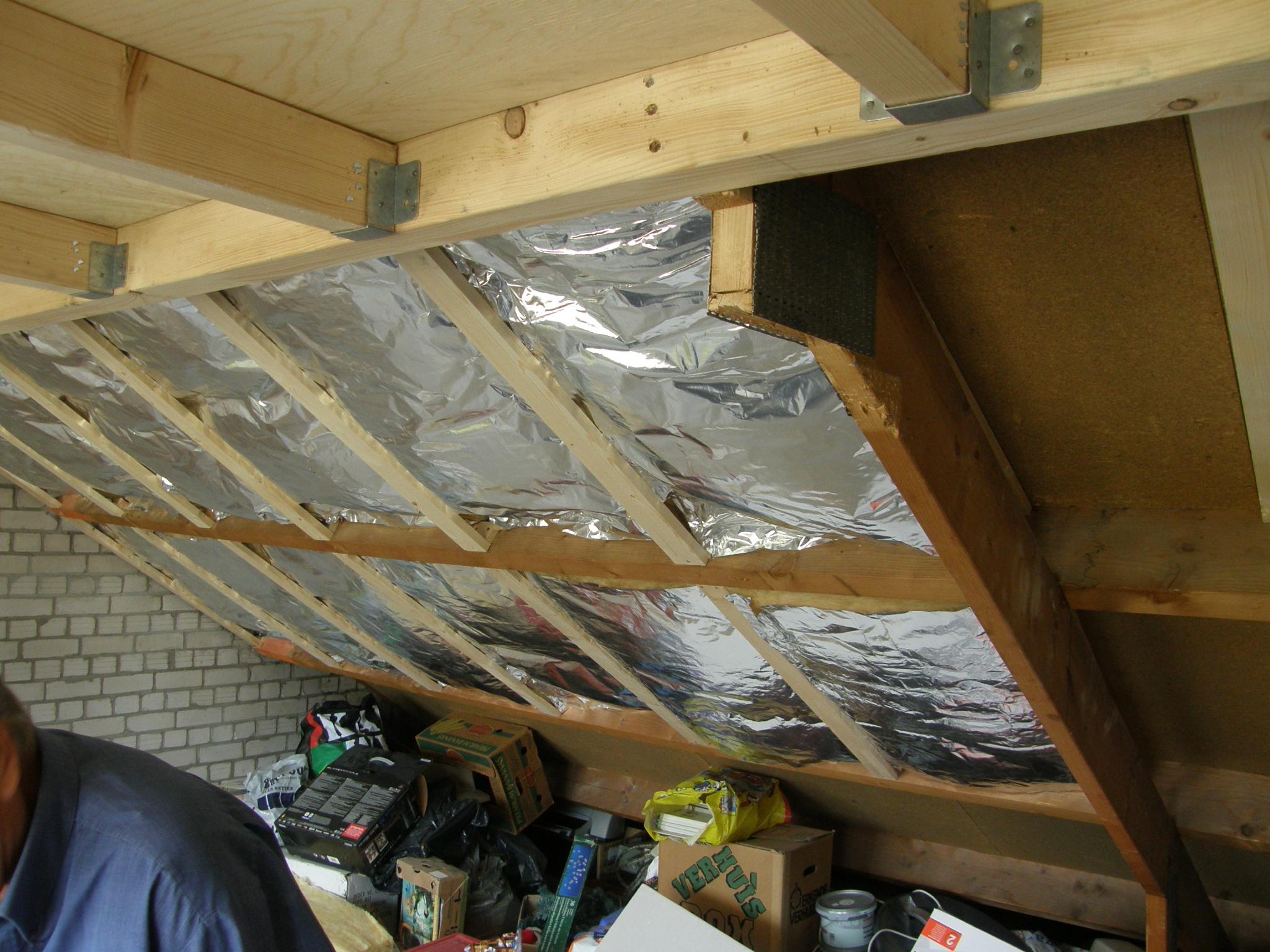 Keuken Verbouwing Hypotheek : Het isolatiemateriaal. En het werkt goed aan beide kanten. Zo was het